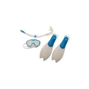 Photo of Speedo Junior Scuba Set Blue Swimwear