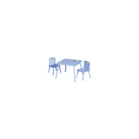 Space Age Table And 2 Chair Set