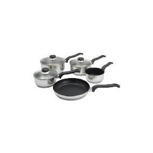 Photo of Ready Steady Cook Classic 5 Piece Set Set With Free Ready Steady Cook Oven Glove Cookware