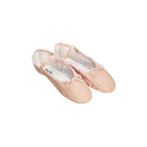 Photo of Dance Now Pink Full Sole Leather Ballet Slipper 10 Sports and Health Equipment