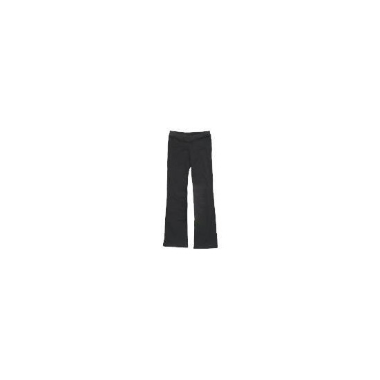 Dance Now Black V Front Jazz Pant 10-12 years