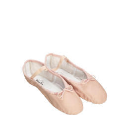 Dance Now Pink Full Sole Leather Ballet Slipper 5 Reviews