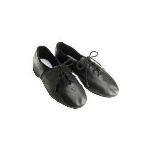 Photo of Dance Now Black Full Sole Leather Jazz Shoe  10 Shoes Man