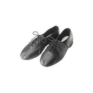 Photo of Dance Now Black Full Sole Leather Jazz Shoe  12 Sports and Health Equipment