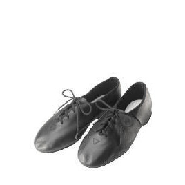 Dance Now Black Full Sole Leather Jazz Shoe  1 Reviews