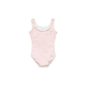 Photo of Dance Now Pink Sleeveless Cotton Lycra Leotard 8-10 Years Sports and Health Equipment