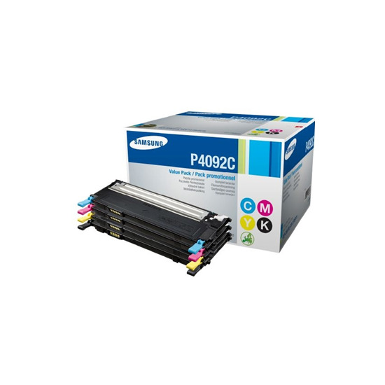 Samsung - Toner cartridge - 1 x black, yellow, cyan, magenta - 1000 pages