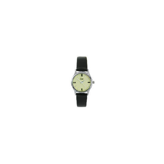 Limit Ladies Black Strap Watch