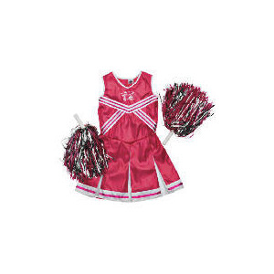 Photo of High School Musical Pink Metallic Cheerleader Dress Up Age 5/8 Toy
