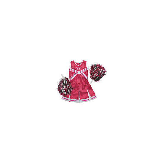 High School Musical Pink Metallic Cheerleader Dress Up Age 3/5