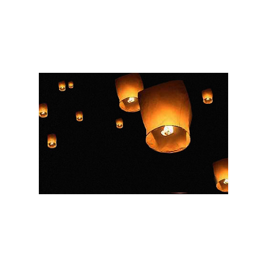 Flying Lanterns - 4 pack