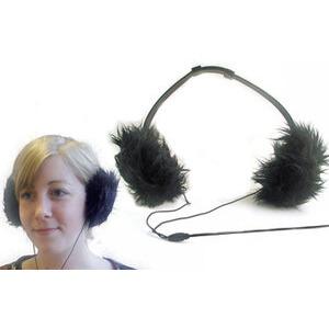 Photo of Earmuff Headphones - Black Headphone