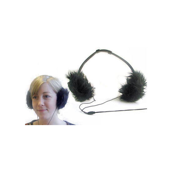 Earmuff Headphones - Black