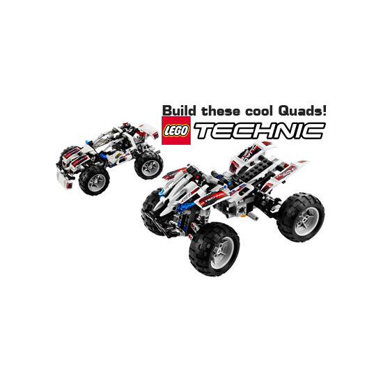 Lego Technic - Quad Bike 8262
