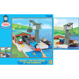 Photo of Thomas & Friends Cranky and Bulstrode At The Harbour Toy