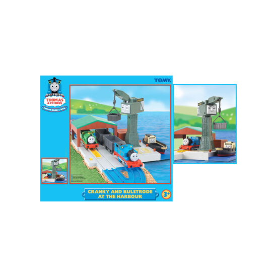 Thomas & Friends Cranky and Bulstrode at the Harbour