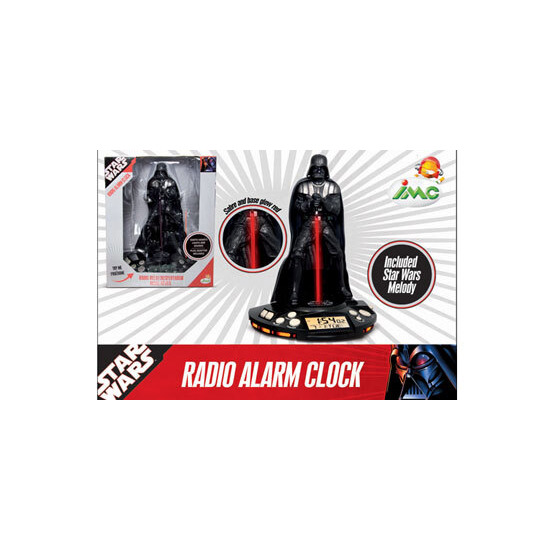 Star Wars Darth Vader Radio Alarm Clock