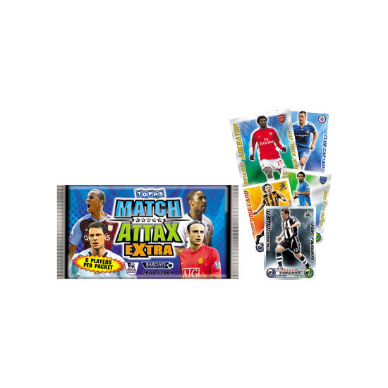 Match Attax Extra Trading Card Game  08/09