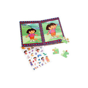 Photo of Dora The Explorer Jigsaw Activity Book Toy