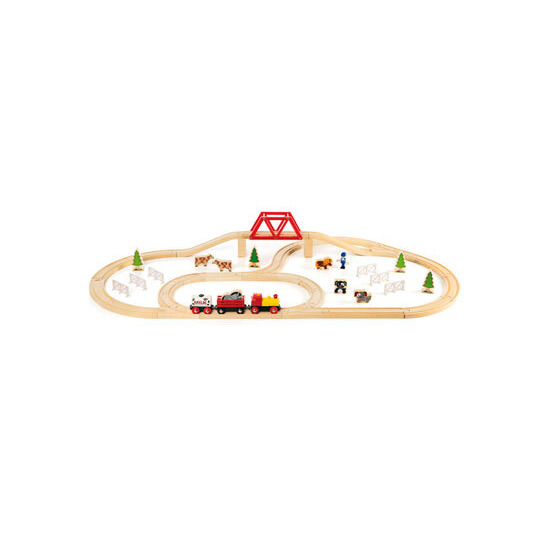 Brio Countryside Train Set