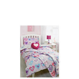 Bedcrest Printed Girls Heart Duvet Set  Single Reviews