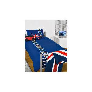 Photo of Bedcrest Printed Boys Cars Duvet Set  Single Bed Linen