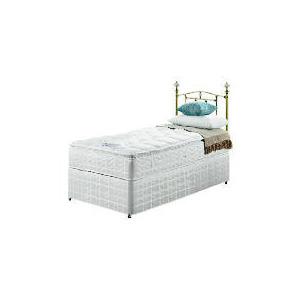 Photo of Silentnight Miracoil 3-Zone Pillowtop Alaska Single Non Storage Divan Set Bedding