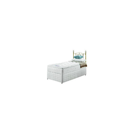 Silentnight Miracoil 3-Zone Pillowtop Alaska Single non storage Divan set