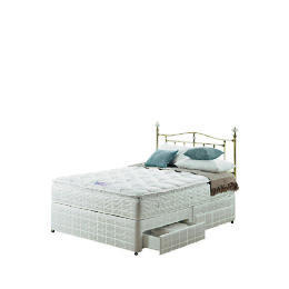 Silentnight Miracoil 3-Zone Pillowtop Alaska King  4 Drw Divan set Reviews