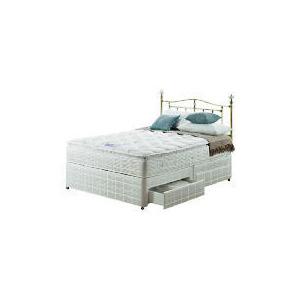 Photo of Silentnight Miracoil 3-Zone Pillowtop Alaska King  4 DRW Divan Set Bedding