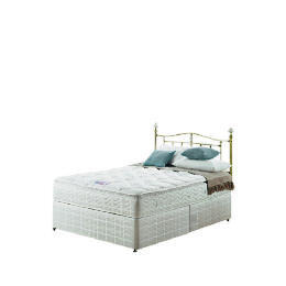 Silentnight Miracoil 3-Zone Pillowtop Alaska King non storage Divan set Reviews