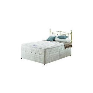 Photo of Silentnight Miracoil 3-Zone Pillowtop Alaska King Non Storage Divan Set Bedding