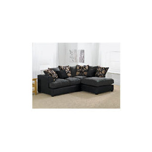 Photo of Oregon Right Hand Facing Corner Sofa, Charcoal Furniture