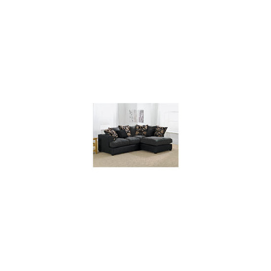 Oregon right hand facing Corner Sofa, Charcoal