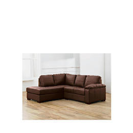 Ashmore left hand facing Leather Corner Sofa, Brown Reviews