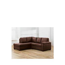 Ashmore left hand facing Leather Corner Sofa, Brown Reviews