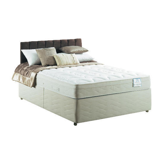 Sealy Posturepedic Silver Dream DeluxeSuper King non storage Divan set