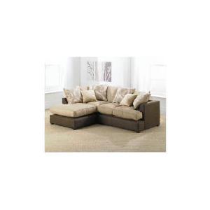 Photo of Oregon Left Hand Facing Corner Sofa, Chocolate Furniture
