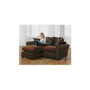 Photo of Virginia Right Hand Facing Corner Chaise Sofa, Chocolate Furniture