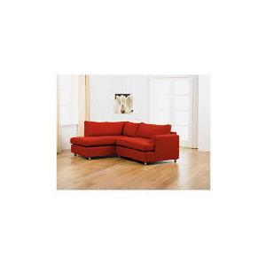 Photo of Loft Left Hand Facing Corner Chaise Sofa, Red Furniture
