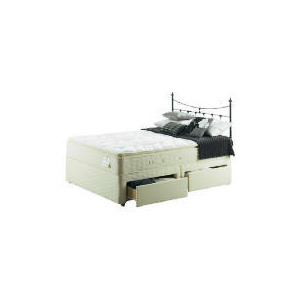 Photo of Sealy Posturepedic Gold Dream Deluxe King 4 DRW Divan Set Bedding