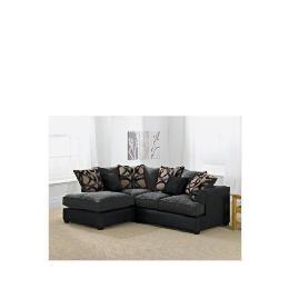 Oregon left hand facing Corner Sofa, Charcoal Reviews