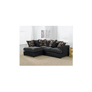 Photo of Oregon Left Hand Facing Corner Sofa, Charcoal Furniture
