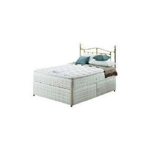 Photo of Silentnight Miracoil 3-Zone Pillowtop Alaska 4FT 6INCH Divan Set Bedding