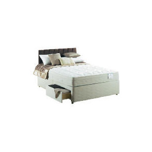 Photo of Sealy Posturepedic Silver Dream Deluxe King 2 DRW Divan Set Bedding