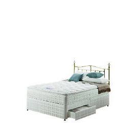 Silentnight Miracoil 3-Zone Pillowtop Alaska King  2 Drw Divan set Reviews