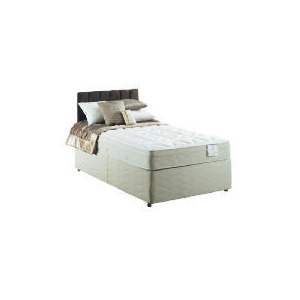 Photo of Sealy Posturepedic Silver Dream Deluxe 4FT 6INCH Non Storage Divan Set Bedding