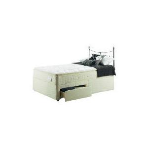 Photo of Sealy Posturepedic Gold Dream Deluxe 4FT 6INCH 2 DRW Divan Set Bedding