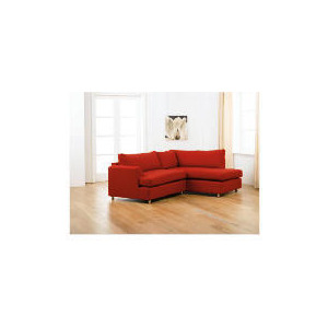 Photo of Loft Right Hand Facing Corner Chaise Sofa, Red Furniture