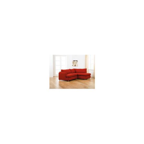 Loft right hand facing Corner Chaise Sofa, Red